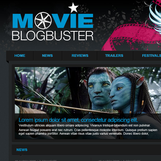 Movie Blog Buster