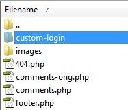 login-folder