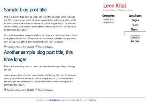 wordpress themes editing tutorial