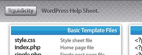 wordpress-help-sheet