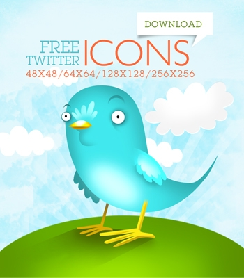 Top 50 High Quality Twitter Icons for FREE | Pro Blog Design