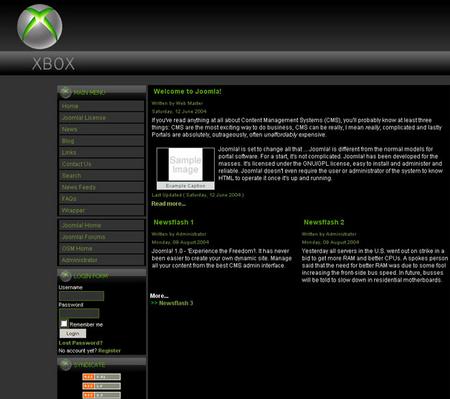 Xbox Black