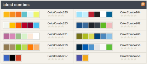 Perfect Color Combinations 25 color combination tools for designers | pro blog design
