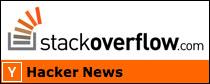 Hacker News & Stack Overflow
