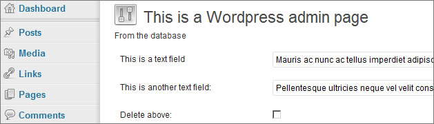 WordPress Development: Bypassing the Settings API