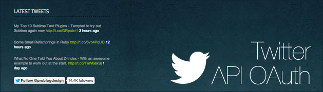 Twitter API OAuth
